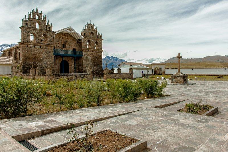 Historica church called Tiobamba, main attractive around the house.