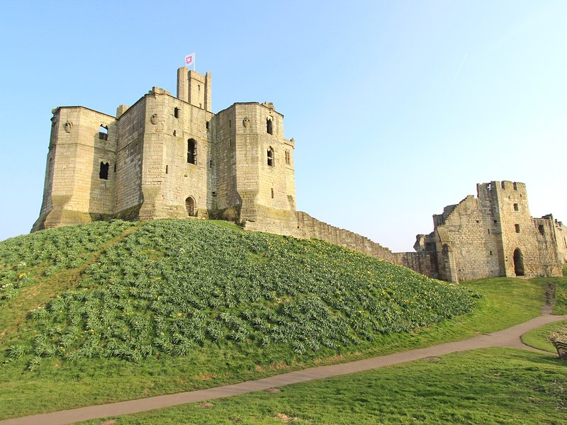 Visit nearby Warkworth Castle