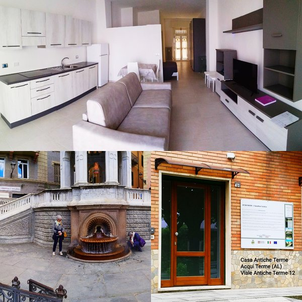 Appartamento Suite Antiche Terme - Zero Barriere - Acqui Bagni (AL), casa vacanza a Bistagno