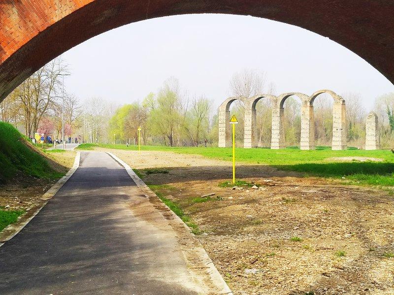 Casa Antiche Terme, Roman Archi cycle path along the Bormida river. UNESCO territory