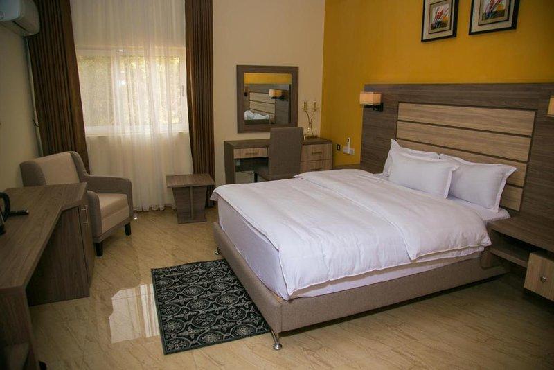 THE CONSORT SUITES (Junior Suite 1), alquiler de vacaciones en Abuja