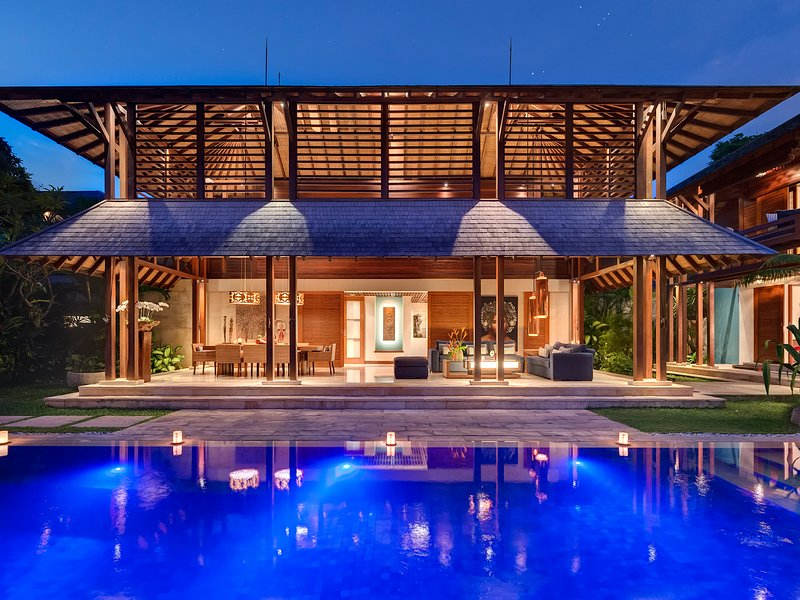 Villa Windu Sari - Het woon- en eetpaviljoen