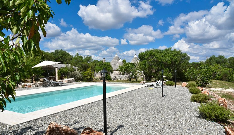 Beautiful villa with swimming-pool, holiday rental in Chiobbica