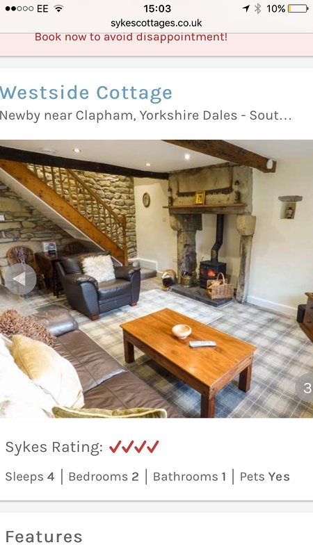 Living room with Stone Traditional Fire place and Multi fuel Stove for cosy nights. Smart TV.
