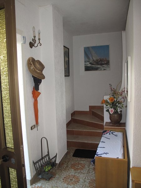 Entrance from the back of the Villa in the STAY and SCALA access to the SECOND LEVEL NIGHT zone