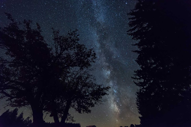 See the stars at Cherry Springs State Park, located ~8 miles south of the home!