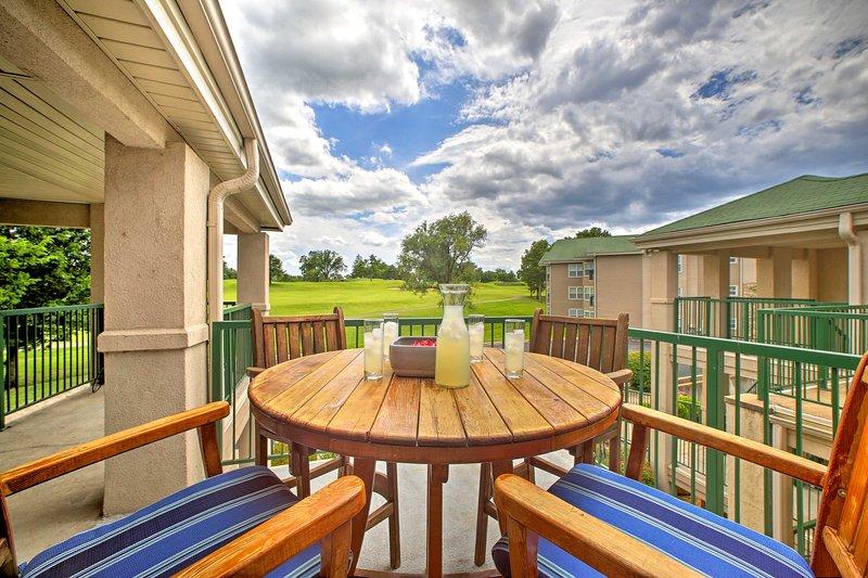 Ubicado en el Holiday Hills Resort, este condominio para 4 tenía excelentes comodidades.