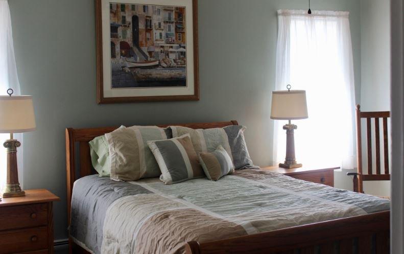 The Aegean Room In Villa Bianca Bed & Breakfast, location de vacances à Rushville