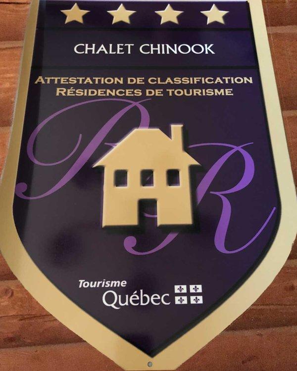 Clasificación de 4 estrellas del consejo de turismo