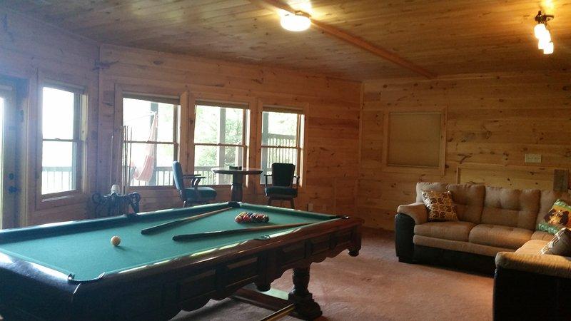 Sala de juegos del nivel del sótano
