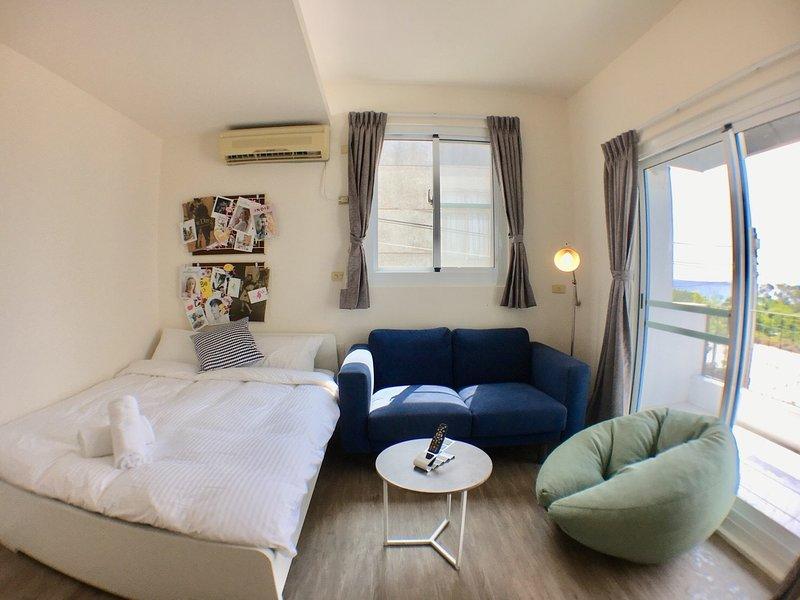 Jialeshui Hiddieland Ocean view Room for 2, aluguéis de temporada em Pingtung City