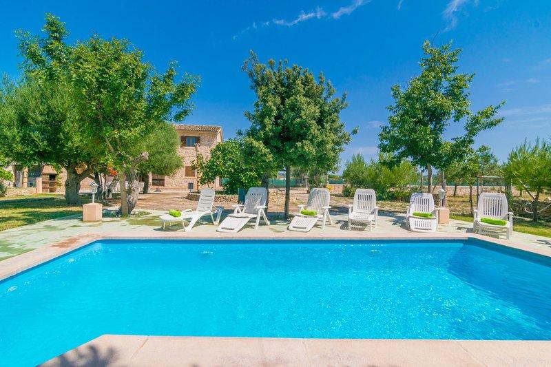 SON PUJOL - Villa for 12 people in MONTUÏRI, alquiler de vacaciones en Randa