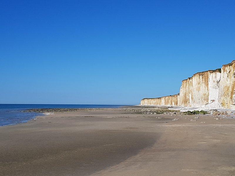 Beach of Veules les Roses