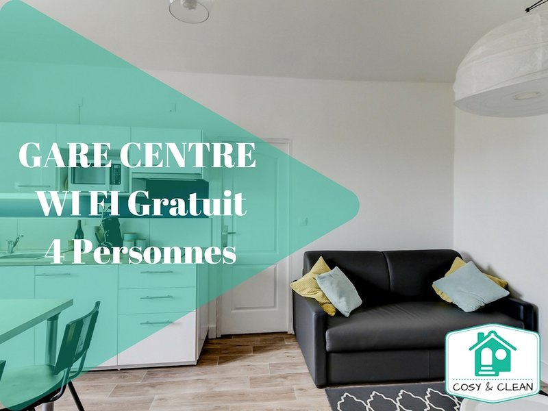 LE PIERRE PALLIOT ★ COSY & CLEAN ★, vacation rental in Fontaine-les-Dijon