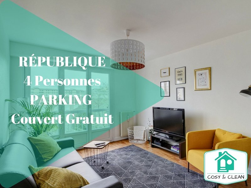 LE LAVIER ★ COSY & CLEAN ★, vacation rental in Fontaine-les-Dijon