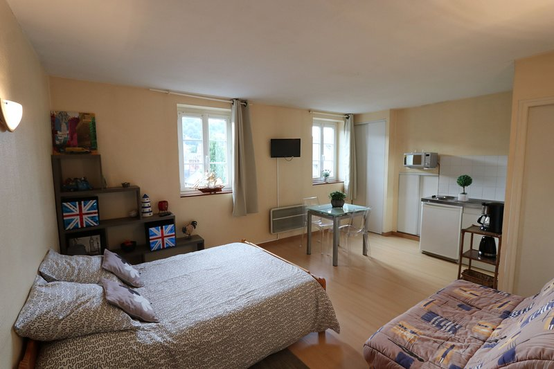 Charmant studio 32 Centre Honfleur, holiday rental in Equemauville