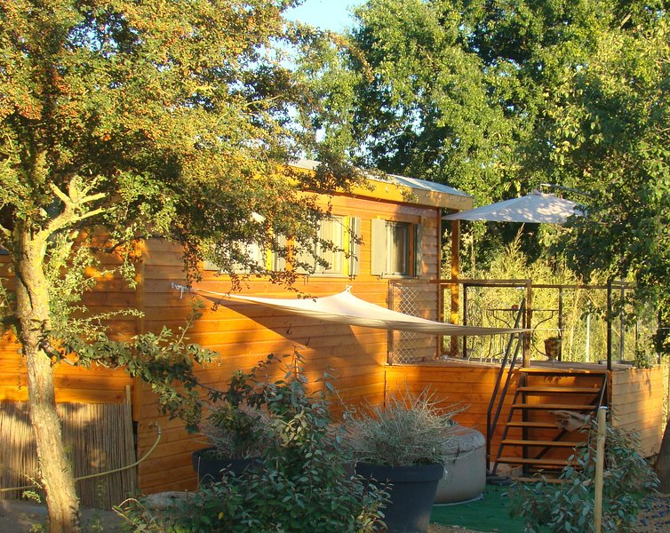 Roulotte, spa privatif, vacation rental in Mirepoix