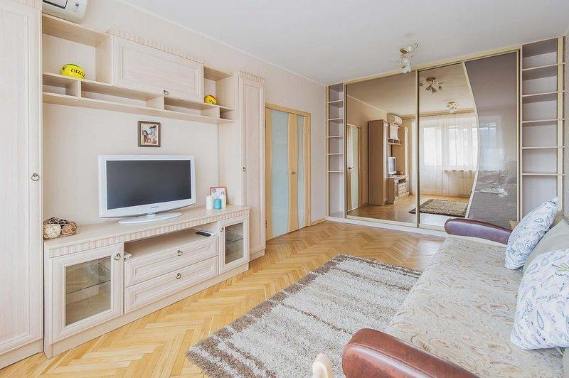GorodM Apartment near Kievskaya railway station, holiday rental in Vorobyovo