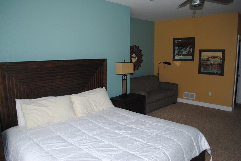 Dormitorio principal de Wisconsin Dells Getaways # 312