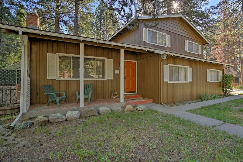 This cozy Lake Tahoe abode will feel just like home!