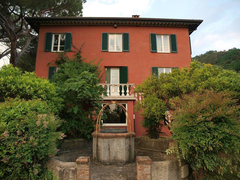 Villa Rossa, holiday rental in Piano di Mommio