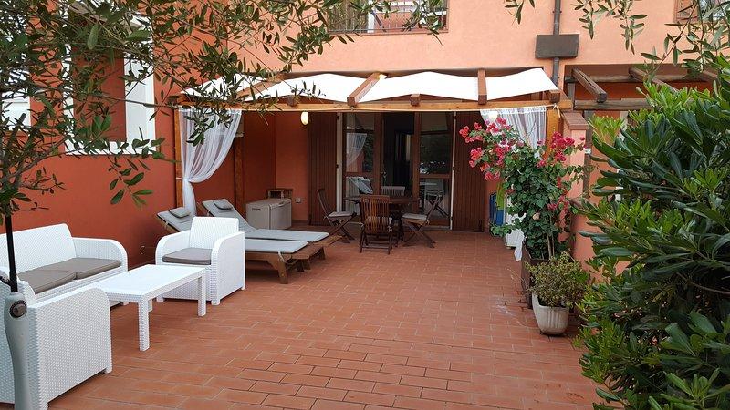 terrazzo patio e gazebo