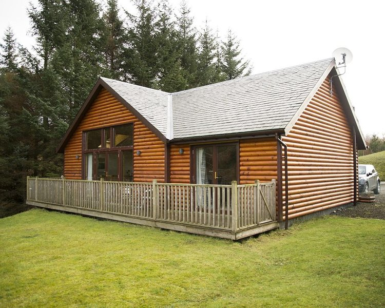 Na Craigean Lodge, holiday rental in Aberfeldy