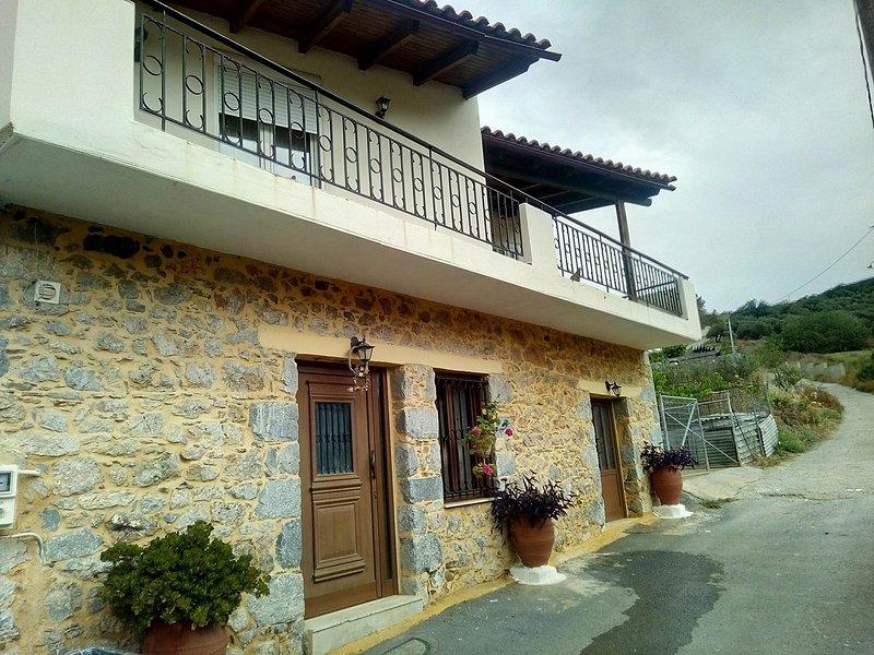 Beautiful house near Hersonissos, alquiler vacacional en Chersonisos