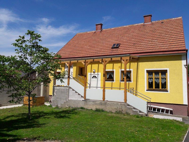 Haus Gartenseitig