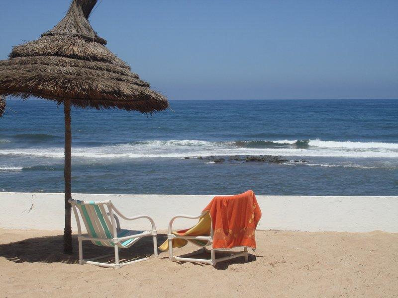 Location villa meublée Mohammedia Plage Maroc, holiday rental in Casablanca-Settat
