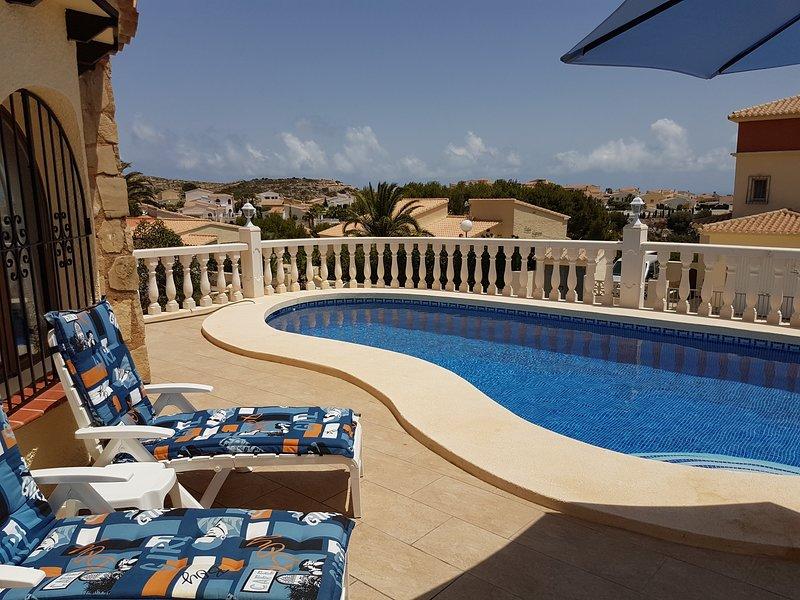 Villa Benitachell , Luxury La Cumbre del Sol Urbanisation, privat swimming pool, holiday rental in Benitachell