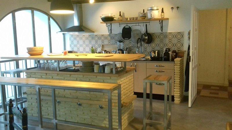 Country stil franskt kök i södra Spanien!