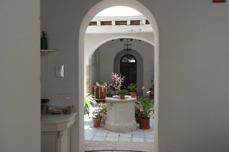 Vacker uteplats - Lägenhet OREGANO