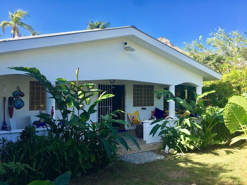 CASA CARIBE BLANCO Las Galeras, Dominican Republic, vacation rental in Las Galeras