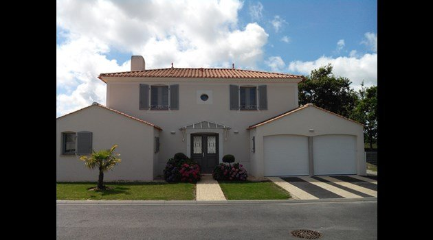Villa voorzijde