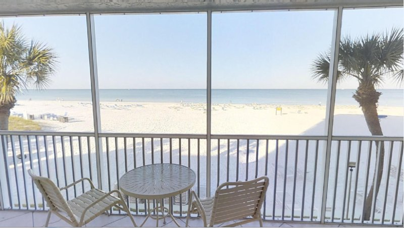 Cathy's Crescent Condos-Siesta Key,  FL GULF FRONT, vacation rental in Siesta Key