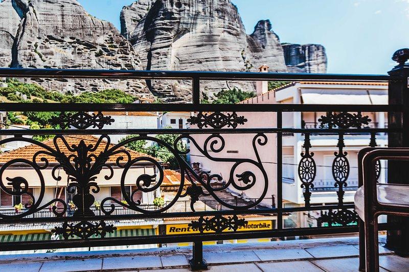 Gorgeous Suite With Spectacular View Of Meteora, location de vacances à Kastraki