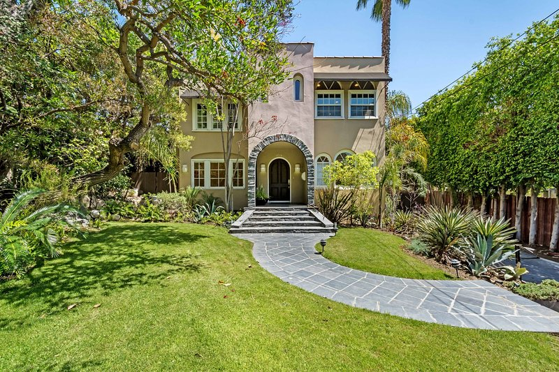 Huge frontage + gate+classic old Hollywood remodedled estate