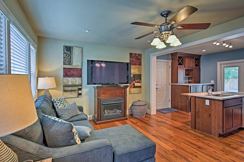 Tulsa, Oklahoma lhe dá as boas-vindas a esta casa de aluguel de um quarto!