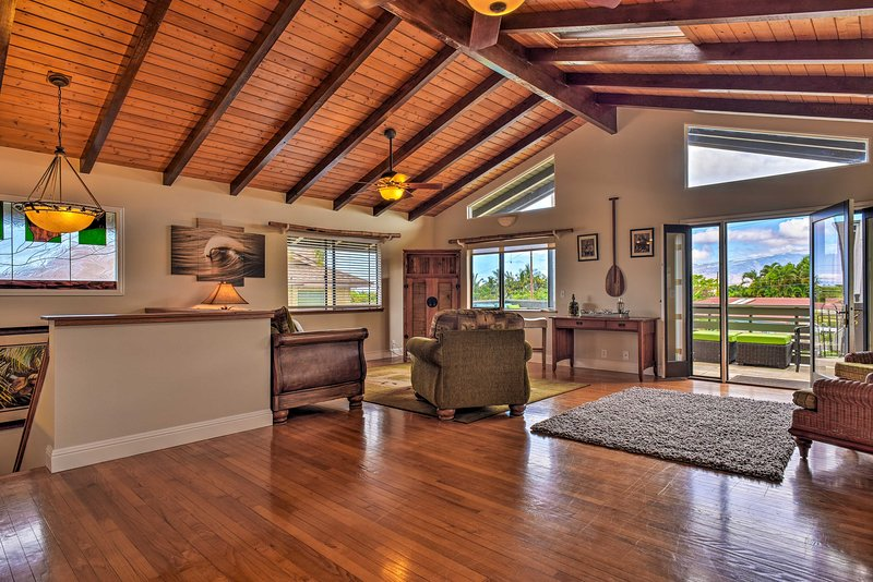 Private Kihei Home w/Yard ½ Mi to Keawakapu Beach, vacation rental in Haleakala National Park
