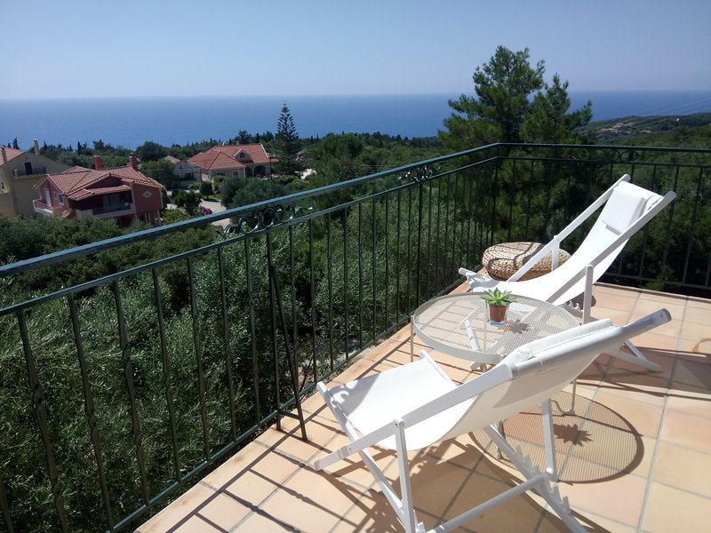 Kefalonia View House Steliata - Fiscardo, holiday rental in Katsarata