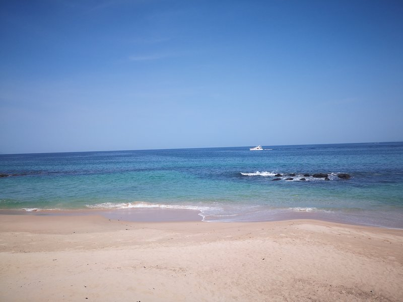 The spectacular condo beach!