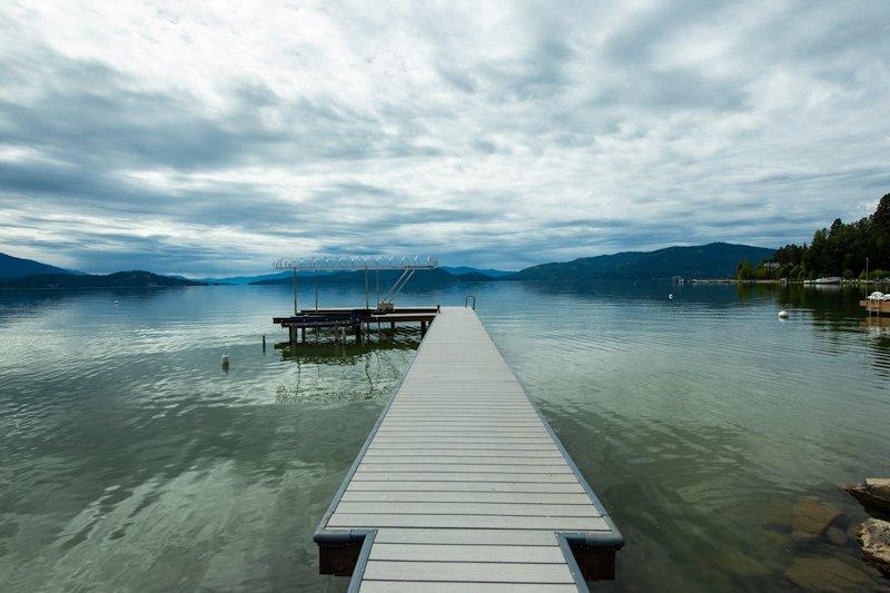 Casa de férias privada em Lake Pend Ear