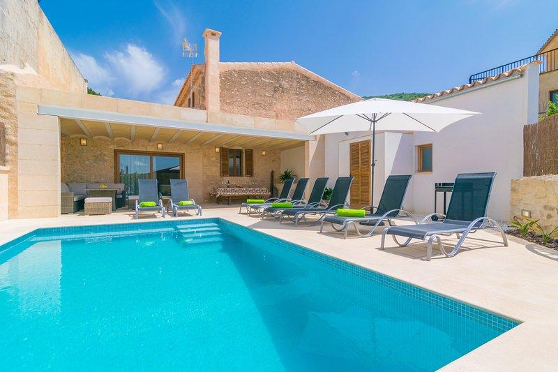 CAN TIANET - Villa for 10 people in Randa / Algaida, vacation rental in Algaida