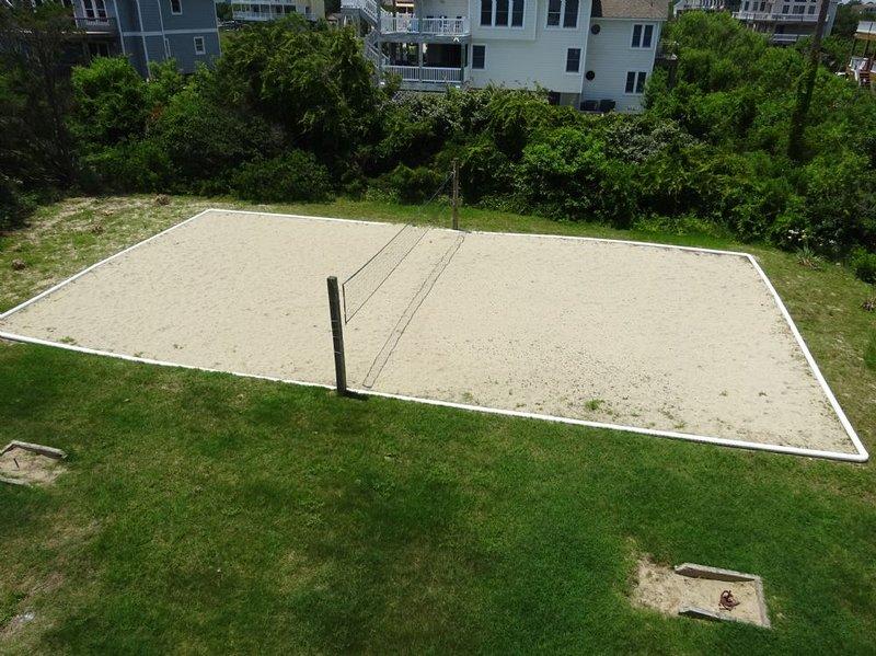 Cancha de voleibol de arena privada