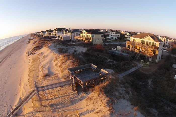 Oceanfront, Private Pool, Hot Tub, Huge Rec. room, Pets OK, Wide Uncrowded Beach, vakantiewoning in Corolla