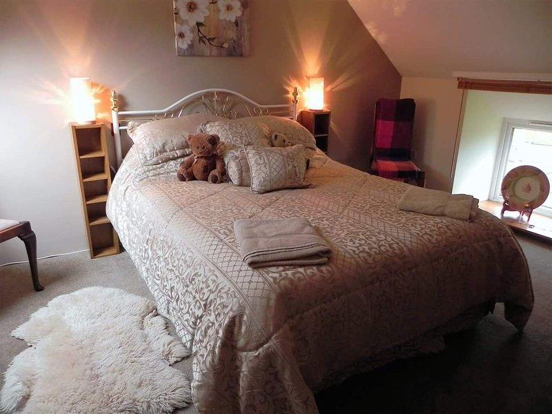 Grote slaapkamer, kingsize bed