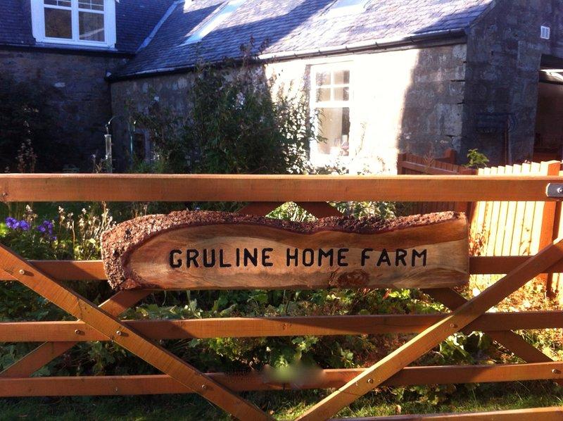 Ambiente privato e appartato all'interno di Gruline Home Farm