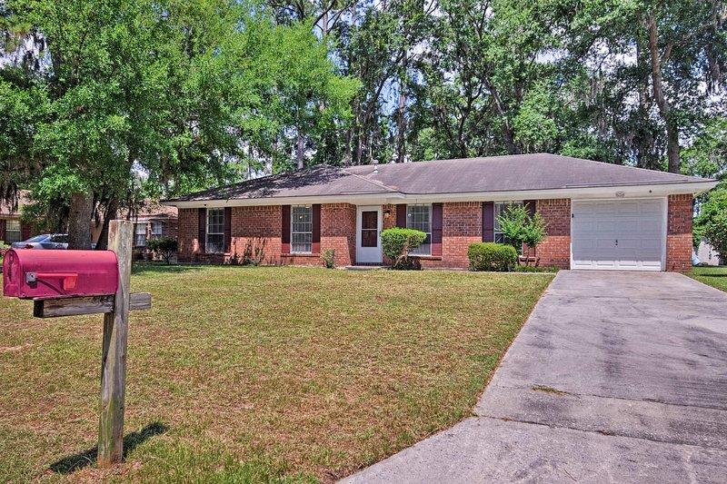 Votre maison de Savannah loin de chez vous vous attend!