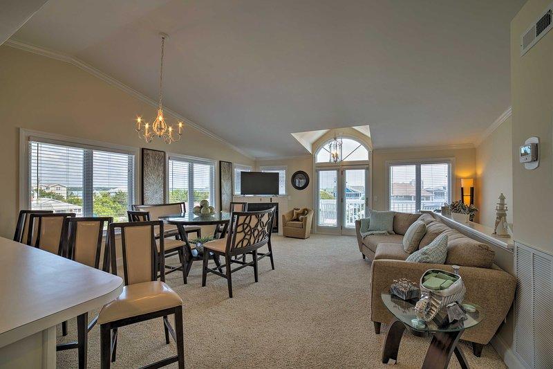 Wrightsville Beach Townhome-Steps to Beach & Pier!, vacation rental in Wrightsville Beach